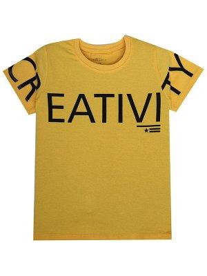"""Футболки для мальчиков """"Eativi yellow"""", цвет Желтый"""