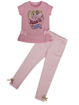 """Комплекты для девочек """"Ladies ' fun"""", цвет Розовый"""
