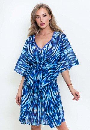 Платье Sydnie Цвет: Синий. Производитель: PENYE MOOD