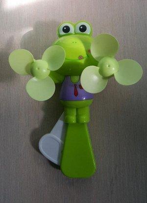 Вентилятор ручной двойной лягушка