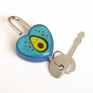 Замочек для чемодана с ключами «Авокадо»
