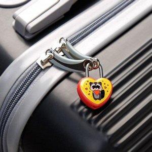 Замочек для чемодана с ключами «Енотик»