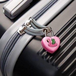 Замочек для чемодана с ключами «Фламинго»