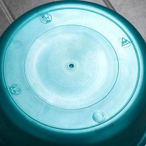 Таз круглый 4,5 л, цвет МИКС
