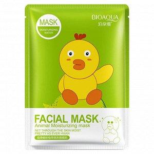 Тканевая маска Bioaqua Facial Mask Animal цыпленок