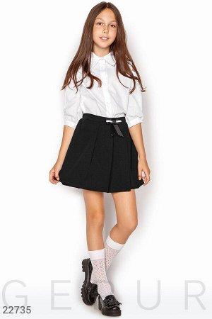 Школьная юбка-шорты