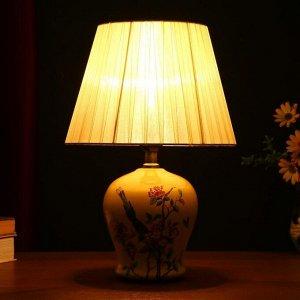 Настольная лампа 32035/1 E27 40Вт бежевый 25х25х36 см