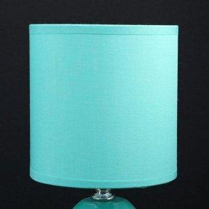Лампа настольная 48472/1GN E14 40Вт зеленый 12.5х12.5х27 см