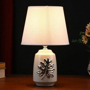 Лампа настольная 48476/1WT E14 40Вт белый 20х20х32 см
