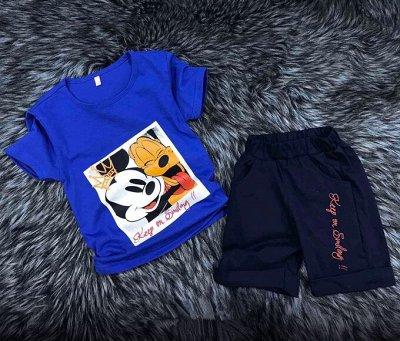 Комфортный трикотаж, джинсы по доступным ценам! — Детские костюмы с шортами — Костюмы и комбинезоны