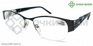Корригирующие очки FABIA MONTI Антиблик FM0040 Черный