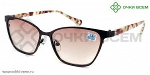 Корригирующие очки FARSI Тонированное A5577 Корич