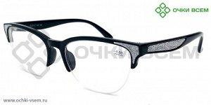 Корригирующие очки FARSI Без покрытия A1133 Черный