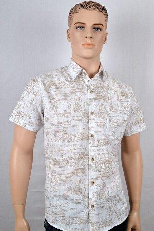 Мужские рубашки короткий рукав