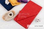 Полотенце махровое 50*90 (красный)