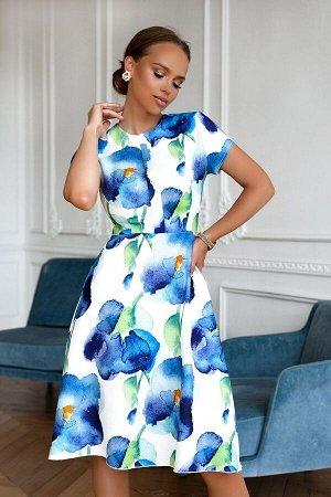 Платье Размер: 42 / 44 / 46 / 48 Шикарное платье из ткани под лен. Идеально по фигуре, Сзади замок 50 см