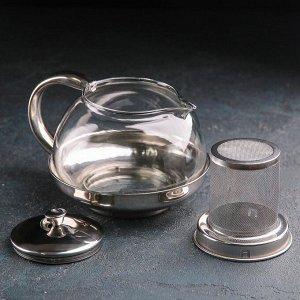 Чайник заварочный «Металлик», 800 мл