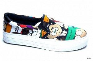 Женские туфли низкий ход BAOIBOY