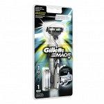 GILLETTE  MACH3  станок с  2 кассетами для бритья