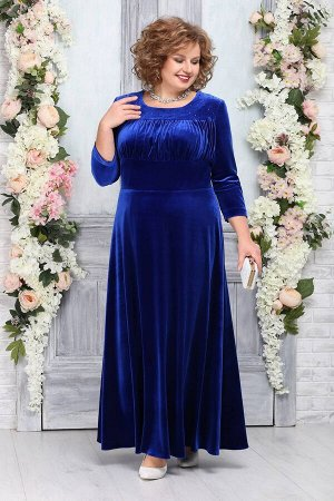 Платье Ninele 5754 василек