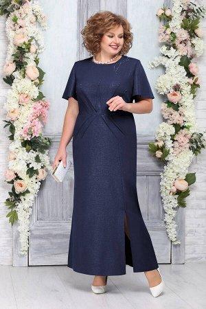 Платье Ninele 5756 темно-синий