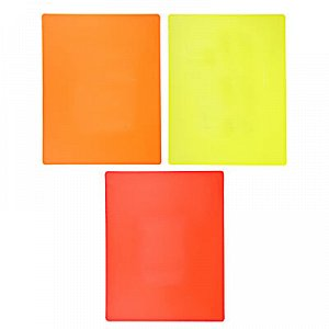 С VETTA Доска разделочная, пластик, гибкая 37x29x0,23см, 3цвета, CY-385-2