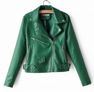 Куртка, зеленый