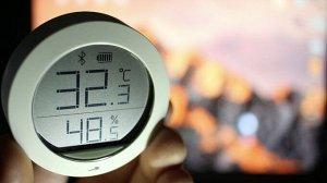 Датчик температуры и влажности Xiaomi Mijia Bluetooth Hygrothermograph