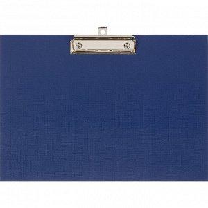 Папка-планшет Attache A4 горизонтальный, синий