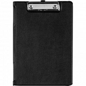Папка-планшет BANTEX 4212 A5 с верх.створкой, черный Россия