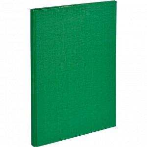 Папка-планшет д/бумаг Attache A4 зеленый с верхней створкой