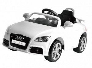 Машина на аккумуляторе для катания детей 676AR AUDI (белая)