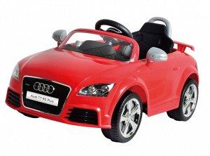 Машина на аккумуляторе для катания детей 676AR AUDI (красная)