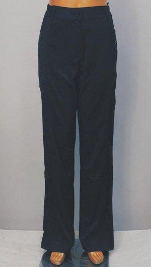 Брюки Брюки женские на резинке. Состав: смешанные текстильные материалы Характеристики: 40 р-р: полуобхват пояса 35 см, длина изделия по внутреннему шву 82 см, боковой шов 106 см