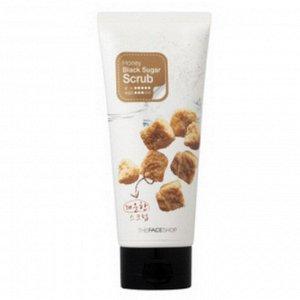 THE FACE SHOP Honey Black Sugar Scrub Скраб для лица с коричневым сахаром 120ml