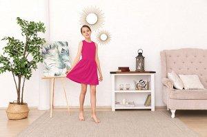 Фуксия платье-сарафан 10-11