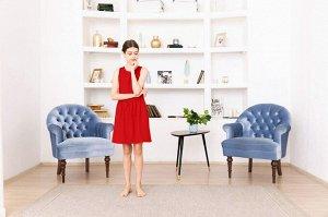 Красное платье-сарафан 12