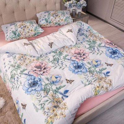 Пледы, полотенца, одеяла, подушки, КПБ — Цветочная коллекция — Постельное белье