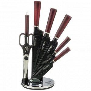 Набор НАБОР НОЖЕЙ AGNESS С НОЖНИЦАМИ И МУСАТОМ НА ПЛАСТИКОВОЙ ПОДСТАВКЕ, 8 ПРЕДМЕТОВ  Материал: Нержавеющая сталь/Пластик Нож -  главный инструмент на кухне, а вернее ножи, т.к. даже самый лучший нож