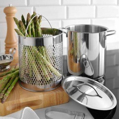 Посуда ™Kamille: стиль и польза! Производство Польша — Кастрюли для фритюра / спаржи — Кастрюли