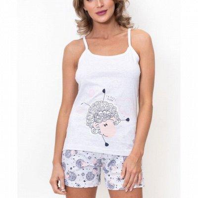 (Д)ТМ Vienetta  Турецкая одежда д/дома и отдыха-4  — Комплекты с шортами — Сорочки и пижамы