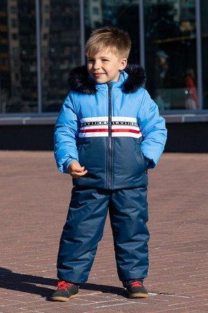 Костюм МИРОСЛАВ мальчик (куртка+п/к) нат.опушка