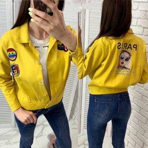Джинсовка Крутые джинсовые куртки Отличное качество Хлопок