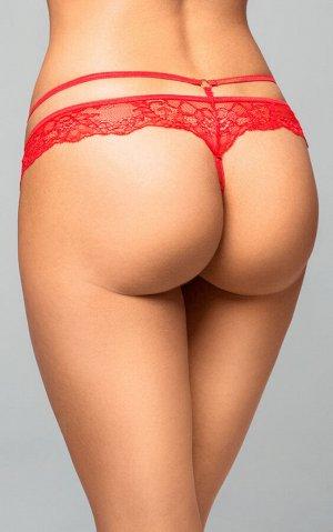 Стринги Softline Collection, красный, M/L