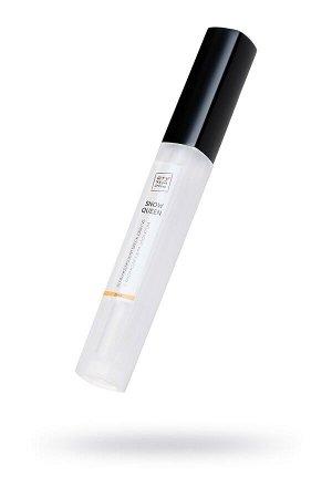 Возбуждающий блеск для губ «Snow queen» с охлаждающим эффектом, со вкусом дыни, 5 мл