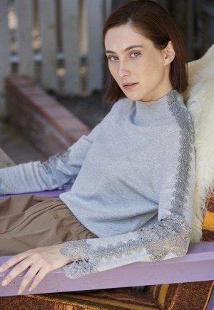 Шикарнейший пуловер M*ARINA**V на 52 р-р или обмен на 50