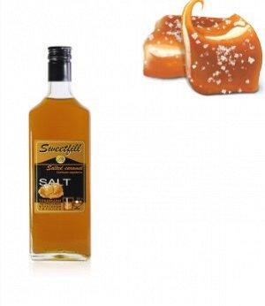Сироп Sweetfill Соленая карамель 0,5л