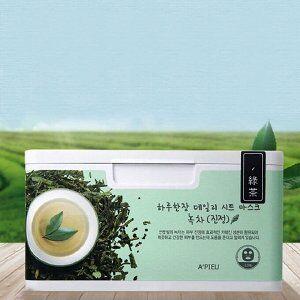 Ежедневная тканевая маска для лица с экстрактом зеленого чая