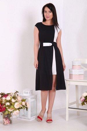 Платье ткань: масло  , шифон состав: 95% ПЭ, 5% эластан Красивое двухцветное платье из шифона и масла с поясом. Пояс съемный, эластичный, регулирующийся. Легкое и удобное в повседневном использовании.
