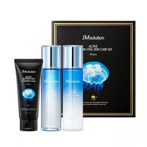 JMsolution Active Jellyfish Vital Skin Care Set Prime Набор по уходу за лицом, 3 продукта